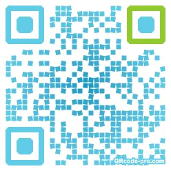 QR code with logo 1E5h0