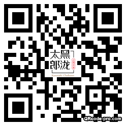 QR code with logo 1EAL0