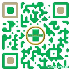 QR code with logo 1EE70