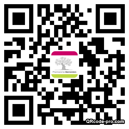 QR code with logo 1ERY0
