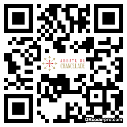 QR code with logo 1ETF0