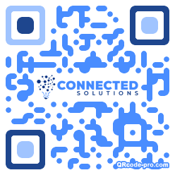 QR code with logo 1EUX0