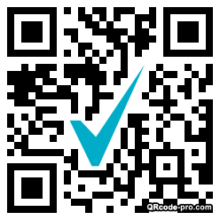 QR code with logo 1EVn0