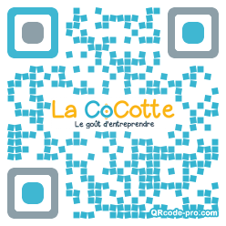 QR code with logo 1EXj0