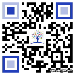 QR code with logo 1Ecl0