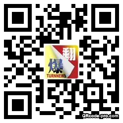 QR code with logo 1EfJ0