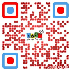 QR code with logo 1EfR0