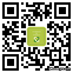 QR code with logo 1EnM0