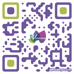QR code with logo 1Eo70