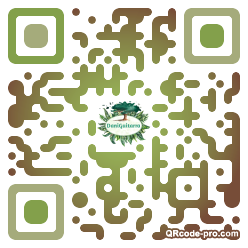 QR code with logo 1EoN0