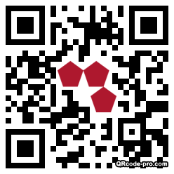 QR code with logo 1EzW0