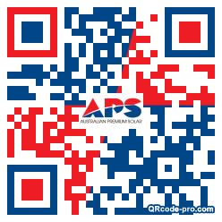 QR code with logo 1F1W0