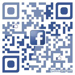 QR code with logo 1F1g0