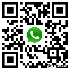 QR code with logo 1FBS0
