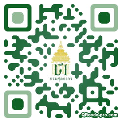 QR code with logo 1FN90