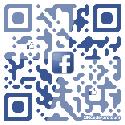 QR code with logo 1FP80