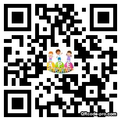 QR code with logo 1FQX0