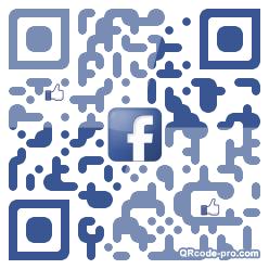 QR code with logo 1FYM0