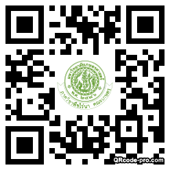 QR code with logo 1FcP0
