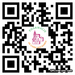 QR code with logo 1Ff80