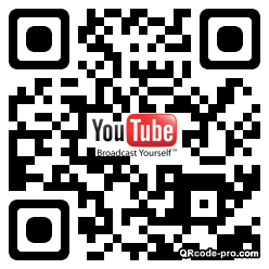 QR code with logo 1Fw10