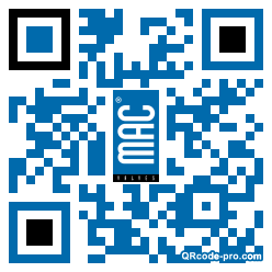 QR code with logo 1Fx10