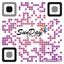QR code with logo 1G120