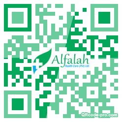 QR code with logo 1G3r0