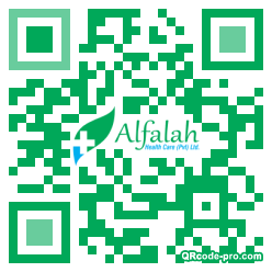 QR code with logo 1G7F0