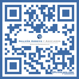 QR code with logo 1GAL0