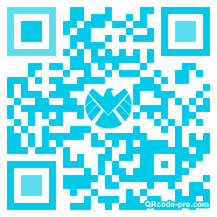 QR code with logo 1GAm0