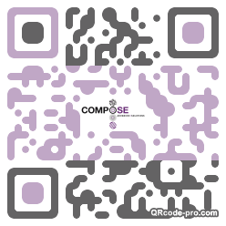 QR code with logo 1GC60