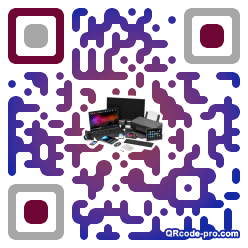 QR code with logo 1GFB0