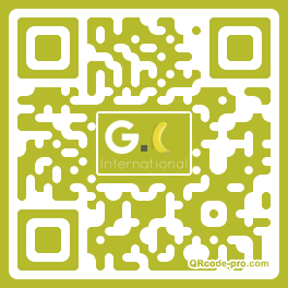 QR code with logo 1GOD0