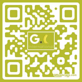 QR code with logo 1GOD0