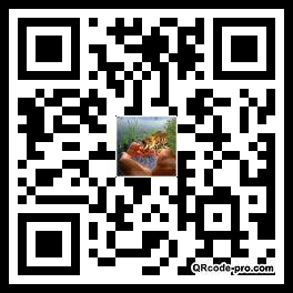 QR code with logo 1GRf0
