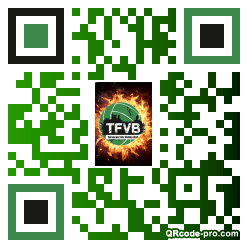 QR code with logo 1GZC0