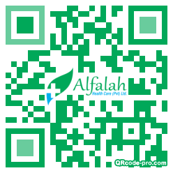 QR code with logo 1Gbn0