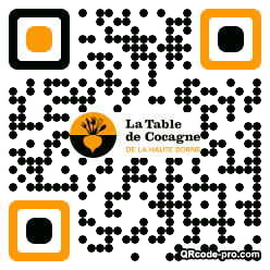 QR code with logo 1Gdp0