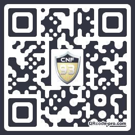 QR code with logo 1H1Z0