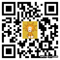 QR code with logo 1H220