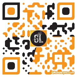 QR code with logo 1H4I0
