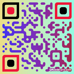QR code with logo 1H6j0