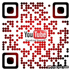 QR code with logo 1H8L0