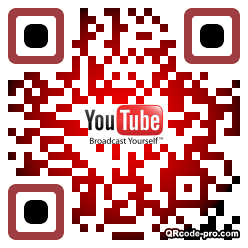 QR code with logo 1HAL0