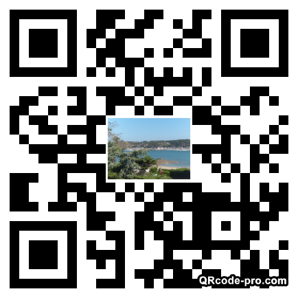 QR code with logo 1HAn0
