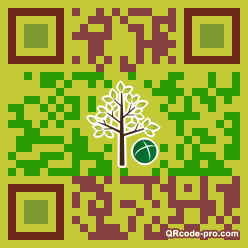 QR code with logo 1HBJ0