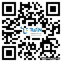 QR code with logo 1HCB0