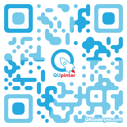 QR code with logo 1HCD0