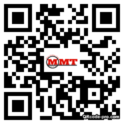 QR code with logo 1HCl0